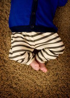 organic cotton striped leggings