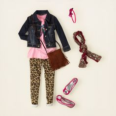 girl - outfits - animal lover - fashion feline | Children's Clothing | Kids Clothes | The Children's Place