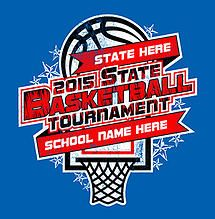 Cricket School & Team- Custom High School State Basketball T-Shirt Design for Students and Athletes with FREE SHIPPING
