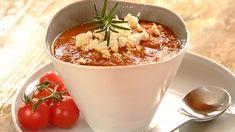 Rich Tomato, Chickpea and Feta Soup