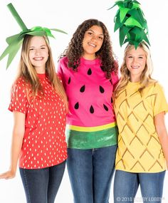 Go from plain tee to party-ready with these easy t-shirt costume DIYs!