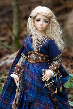 celtic dolls