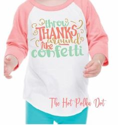 "Girls Thanksgiving Shirt, Girls Fall Raglan"" #clothing #children #girl @EtsyMktgTool http://etsy.me/2hWKqaJ"