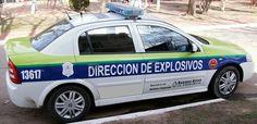 Chevrolet Astra . Dirección de Explosivos Provincia de Buenos Aires