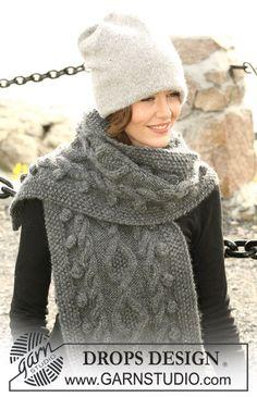Hand Knit 100 %  PURE ALPACA WOOL  scarf  Chunky by PUREWHITEDECO