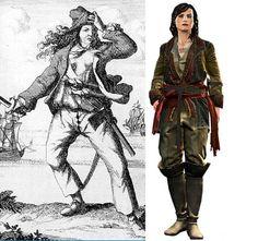 Mary Read  http://www.animasan.com.br/personagens-historicos-da-franquia-de-games-assassins-creed-parte-x-assassins-creed-iv-black-flag/