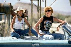 Thelma & Louise Why we need it: Two badass gals hitting the road on an outlaw adventure. Can you just imagine how grungy-cool this line would be?What it needs to have: lipstick in Outlaw, a mattifying face powder in Polaroid Selfie.