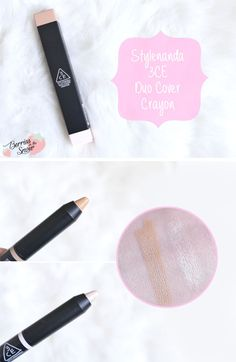 Review: Stylenanda 3CE Duo Cover Crayon