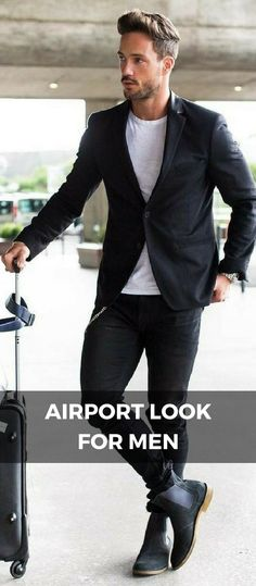 Make sure you always travel with style – Henleinz Are you looking for outfit inspiration? Then take a look at us! Either you are looking for casual, business, urban, classy looks, we got you covered! Mens Fashion Blog, Mens Fashion Suits, Fashion Menswear, Fashion Kids, Streetwear, Hipster Man, Men Street, How To Look Classy, Mens Clothing Styles