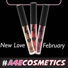 Fall in LOVE. 💕 Launching in February. It's almost here. #makeup #lipstick