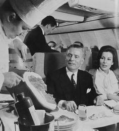 Lufthansa 707 First Class
