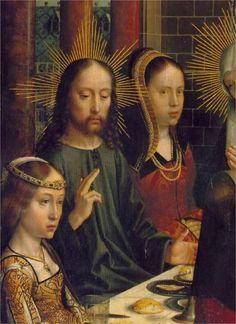 The Marriage at Cana (detail), Gerard David (1500-1503)