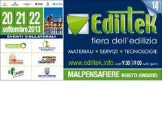 Ediltek 2013: dal 20 al 22 settembre 2013 a Malpensafiere si riunisce il comparto edile Nord-Ovest | News | Expoportale.com - Fiere, eventi e manifestazioni in Italia e in Europa