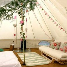Classic Bell tent | urbans and indians