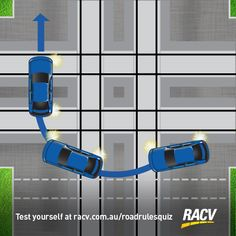 When can you make a hook turn or a u-turn? We explain when the turns are allowed to be made in Victoria and the rules that restrict them. Rule 33, Road Rules, Types Of Lines, Road Markings, U Turn, Hanging Signs, Victorian, Illustration, Illustrations