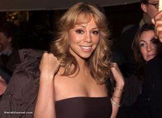 Mariah Carey - '' Outside the bayerischer hotel in munich, Germany '' Famous Musicals, Glitter Hair, Living Legends, Her Smile, Mariah Carey, Love Her, Blonde Hair, Hair Beauty, Beautiful Women