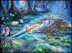 Lady of the Lake by Josephine Wall