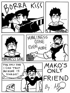 Mako's Only Friend by ~VictorySoup on deviantART - I think I died. xD