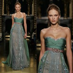Beautiful gown.