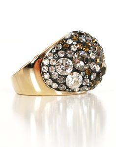 4e4878100 SWAROVSKI RING Swarovski Ring, Swarovski Crystals, Clay Jewelry, Gemstone  Jewelry, Toe Rings