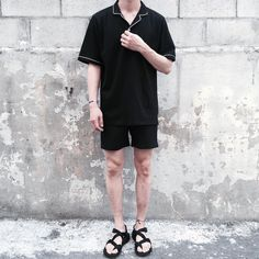 ideas for moda hipster casual grunge Korean Fashion Men, Korea Fashion, Urban Fashion, Trendy Fashion, Mens Fashion, Hipster Fashion, Fashion Wear, Boy Fashion, Estilo Hipster