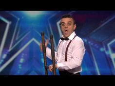 America's Got Talent 2015 S10E04 Uzeyer Novruzov Channels a Charlie Chaplin Silent Movie - YouTube