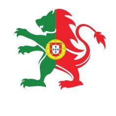 Portuguese flag heraldic lion