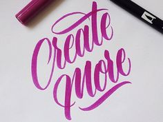 18 Inspirational Hand Lettering Logos by 18 Awesome Typographers | Create More by Andy Lethbridge