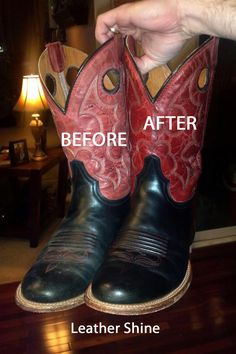 Before and after photos with the Norwex Leather Shine. Norwex Biz, Norwex Cleaning, Green Cleaning, Natural Cleaning Products, Norwex Products, Norwex Australia, Norwex Party, Norwex Consultant, Chemical Free Cleaning