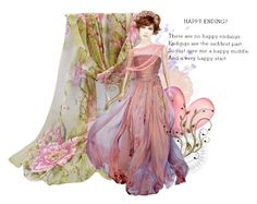 """""""Happy Endings??"""" by glitterlady4 ❤ liked on Polyvore featuring art"""