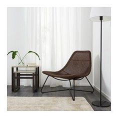 IKEA offers everything from living room furniture to mattresses and bedroom furniture so that you can design your life at home. Check out our furniture and home furnishings! Black Furniture, Ikea Furniture, Furniture Making, Chaise Ikea, Rattan Armchair, Black Armchair, My Living Room, Living Room Chairs, Living Room Furniture