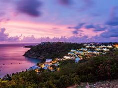 Eight luxury private villas nestled into the hill on Crocus Bay #CeBlue #CeBlueVillas #Anguilla #paradise