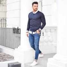 Men Look style fashion lifestyle thug jeans sneacker sneackers