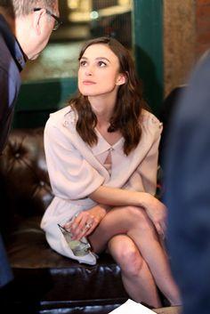 Keira Knightley in Chanel. [Photo by Will Ragozzino]