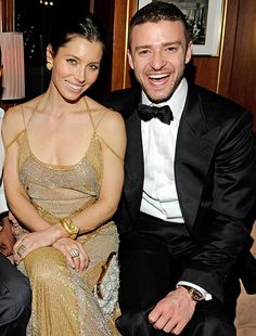 """Jessica Biel and Justin Timberlake.  Jessica Biel wore a pink and white Giambattista Valli Haute Couture gown when she wed Justin Timberlake at the Borgo Egnazia resort in Puglia, Italy, Oct. 19. """"Justin performed one song at the wedding,"""" a source told Us Weekly. """"He dedicated it to Jessica."""