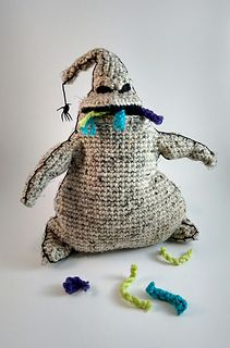 Oogie Boogie crochet pattern