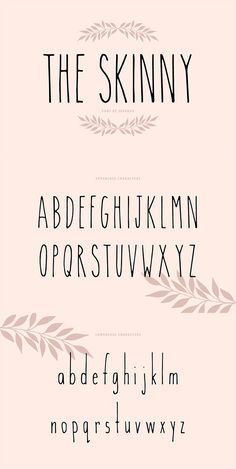 Fonte Alphabet, Thin Fonts, Simple Fonts, Simple Lettering, Hand Lettering Alphabet, Handwriting Fonts Alphabet, Cute Fonts Alphabet, Calligraphy Fonts Alphabet, Beautiful Handwriting Alphabet