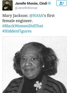 Mary Jackson, NASA's first female engineer Black History Facts, Black History Month, Black Girls Rock, Black Girl Magic, Nasa, My Black Is Beautiful, Before Us, Black Power, African American History