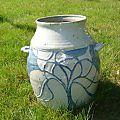 Wheel thrown and carved large pot ~ Ken Ferber