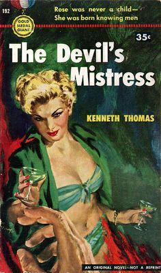 The Devils Mistress (1951) by Book Covers: Vintage Paperbacks, Mars Sci-Fi, via Flickr