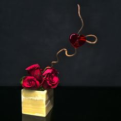 Say it with flowers - a romantic gift from #ArmaniFiori. Find more of the latest creations on http://ArmaniFiori.com