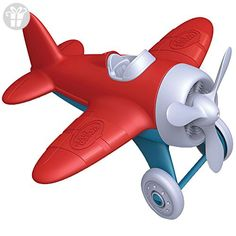 Green Toys Airplane, Red (*Amazon Partner-Link)