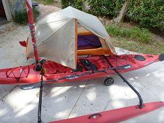 Hobie adventure island camping kayak #kayak