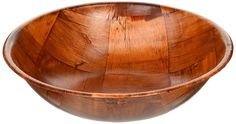 Wooden Woven Salad Bowl