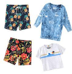 A cariocas Farm e Foxton lançam uma coleção especial de Dia dos Namorados com um clima bem tropical e fresh! Na foto, bermudas (R$ 179 cada) e camisetas (R$ 98)