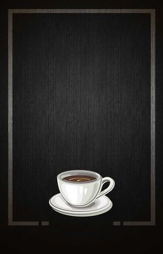Hand Painted Coffee Coffee Shop Cartoon Table And Chair Cafe Menu, Menu Café, Restaurant Menu Template, Menu Restaurant, Food Graphic Design, Menu Design, Coffee Love, Coffee Cups, Baking Wallpaper