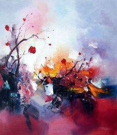 Spring Awakening Acrylic Painting