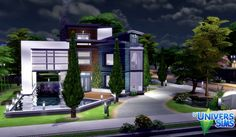 Happy Family Modern by Vanderetro at L'UniverSims via Sims 4 Updates