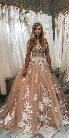 Champagne sweetheart tulle lace long prom dress champagne evening dress Size: US US US US US US US US, 16 Shoulder to Shoulder to Champagne Evening Dress, Lace Evening Dresses, Evening Gowns, Evening Party, Elegant Dresses, Cheap Bridal Dresses, Bridal Gowns, Wedding Dresses, Lace Wedding