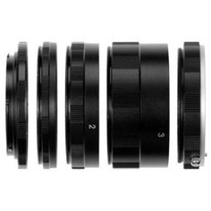 Bolo Canon EOS Macro Extension Tube Set Kit for Extreme Close-up, fits Canon EOS 1d,1ds,Mark II, III, IV, 5D, Mark II, 7D, 10D, 20D, 30D, 40D, 50D, 60D, Digital Rebel xt, xti, xs, xsi, t1i, t2i, 300D, 350D, 400D, 450D, 500D, 550D, 1000D with FREE MICRO .. by Bolo Brands - Shop Online for Electronics in NZ
